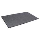 CROWN MATS & MATTING CWNNR0046GY Needle Rib Wipe & Scrape Mat, Polypropylene, 48 X 72, Gray