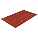 CROWN MATS & MATTING CWNWSCT35TC Safewalk-Light Heavy-Duty Anti-Fatigue Mat, Rubber, 36 X 60, Terra Cotta