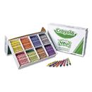 Crayola CYO528389 Jumbo Classpack Crayons, 25 Each Of 8 Colors, 200/set