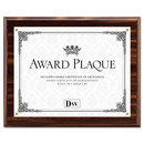 DAX MANUFACTURING INC. DAXN15818T Award Plaque, Wood/acrylic Frame, Up To 8 1/2 X 11, Walnut