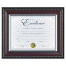 Dax DAXN3245N2T World Class Document Frame W/certificate, Walnut, 8 1/2 X 11
