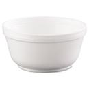 Dart DCC12B32 Insulated Foam Bowls, 12oz, White, 50/pack, 20 Packs/carton