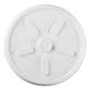 Dart DCC12JL Plastic Lids, For 12oz Hot/cold Foam Cups, Vented, 1000/carton