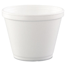 Dart DCC12SJ20 Food Containers, Foam,12oz, White, 25/bag, 20 Bags/carton