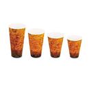 Dart DCC20U16ESC Foam Hot/cold Cups, 20oz, Brown/black, 500/carton
