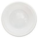 Dart DCC5BWWFPK Famous Service Impact Plastic Dinnerware, Bowl, 5-6 Oz, White, 125/pack