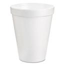 Dart DCC8J8BG Drink Foam Cups, 8oz, White, 25/pack