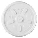 Dart DCC8JL Plastic Lids, For 8oz Hot/cold Foam Cups, Vented, 1000 Lids/carton