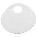 SOLO Cup DCCDLR626CT Ultra Clear Dome Cold Cup Lids F/16-24 Oz Cups, Pet, 1000/carton