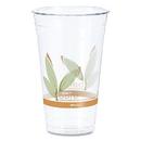 SOLO Cup DCCRTD24BARE Bare Rpet Cold Cups, Leaf Design, 24 Oz, 50/pack, 12 Packs/carton