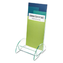 DEFLECTO CORPORATION DEF775383 Euro-Style Docuholder, 4 1/2w X 4 1/2d X 7 7/8h, Clear