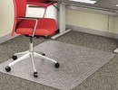 DEFLECTO CORPORATION DEFCM11442F Economat Occasional Use Chair Mat For Low Pile, 46 X 60, Clear