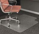 Deflect-O DEFCM15233 Rollamat Frequent Use Chair Mat For Medium Pile Carpet, 45 X 53 W/lip, Clear