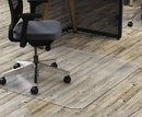 Deflect-O DEFCM21442FPC Clear Polycarbonate All Day Use Chair Mat For Hard Floor, 46 X 60