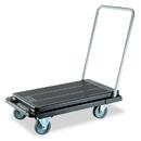 DEFLECTO CORPORATION DEFCRT550004 Heavy-Duty Platform Cart, 500lb Capacity, 21w X 32 1/2d X 37 1/2h, Black