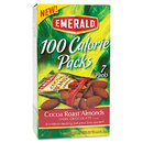 Emerald DFD84325 100 Calorie Pack Dark Chocolate Cocoa Roast Almonds, .63oz Packs, 7/box