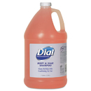Dial Professional DIA03986 Body And Hair Care, 1gal Bottle, Gender-Neutral Peach Scent, 4/carton