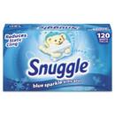 Snuggle DIA45115EA Fabric Softener Sheets, Fresh Scent, 120 Sheets/Box