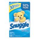 Snuggle DIA45115 Fabric Softener Sheets, Fresh Scent, 120 Sheets/Box, 6 Boxes/Carton