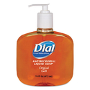 Dial Professional DIA80790EA Gold Antimicrobial Soap, Floral Fragrance, 16oz Pump Bottle