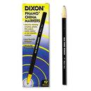 Dixon DIX00077 China Marker, Black, Dozen