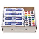 DIXON TICONDEROGA CO. DIX08020 Professional Watercolors, 8 Assorted Colors,masterpack, 36/set