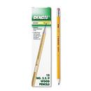 DIXON TICONDEROGA CO. DIX12875 Oriole Woodcase Pencil, F #2.5, Yellow, Dozen