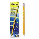 DIXON TICONDEROGA CO. DIX12886 Oriole Woodcase Presharpened Pencil, Hb #2, Yellow, Dozen