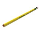 DIXON TICONDEROGA CO. DIX13856 Tri-Write Woodcase Pencil, Hb #2, Yellow, Dozen