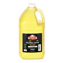 DIXON TICONDEROGA CO. DIX22803 Ready-To-Use Tempera Paint, Yellow, 1 Gal