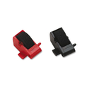 DATA PRD-SEE TONER FOR COPY&FAX, RIBBONS DPSR14772 R14772 Compatible Ink Rollers, Black/red, 2/pack