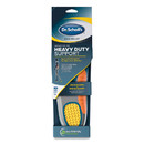 Dr. Scholl's DSC59048 Pain Relief Orthotic Heavy Duty Support Insoles, Men Sizes 8 to 14, Gray/Blue/Orange/Yellow, Pair