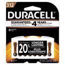 Duracell DURDA312B8ZM09 Button Cell Zinc Air Battery, #312, 8/pk