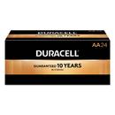 Duracell DURMN1500BKD Coppertop Alkaline Batteries With Duralock Power Preserve Technology, Aa, 144/ct