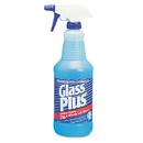 Glass Plus DVO94378CT Glass Cleaner, 32oz Spray Bottle, 12/carton