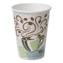 DIXIE FOOD SERVICE DXE5342CD Hot Cups, Paper, 12oz, Coffee Dreams Design, 1000/carton