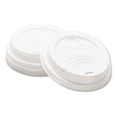 DIXIE FOOD SERVICE DXE9538DX Drink-Thru Lid, Fits 8oz Hot Drink Cups, White, 1000/carton