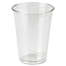 DIXIE FOOD SERVICE DXECP10DX Clear Plastic Pete Cups, Cold, 10oz, Wisesize, 25/pack, 20 Packs/carton