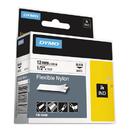 DYMO DYM18488 Rhino Flexible Nylon Industrial Label Tape, 1/2