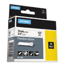 DYMO DYM18489 Rhino Flexible Nylon Industrial Label Tape, 3/4