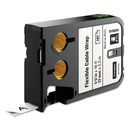 Dymo 1868806 XTL Flexible Cable Wrap Labels, 1/2