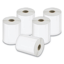 Dymo 2026404 LW Extra-Large Shipping Labels, 4 x 6, White, 220/Roll, 5 Rolls/Pack