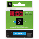 DYMO DYM45017 D1 High-Performance Polyester Removable Label Tape, 1/2