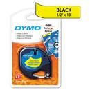 DYMO DYM91332 Letratag Plastic Label Tape Cassette, 1/2