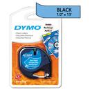 DYMO DYM91335 Letratag Plastic Label Tape Cassette, 1/2
