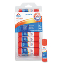 ELMER'S PRODUCTS, INC. EPIE553 Disappearing Glue Stick, 0.21 Oz, 24/pack