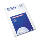 Epson EPSS041407 Ultra Premium Photo Paper, 64 Lbs., Luster, 13 X 19, 50 Sheets/pack