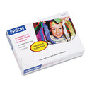 Epson EPSS041727 Premium Photo Paper, 68 Lbs., High-Gloss, 4 X 6, 100 Sheets/pack