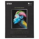 Epson EPSS042327 Hot Press Bright Fine Art Paper, 8-1/2 X 11, Bright White, 25 Sheets