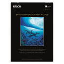 Epson EPSS045487 Exhibition Textured Watercolor Paper, 13 X 19, White